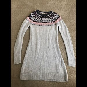 Hollister fall/winter sweater dress.